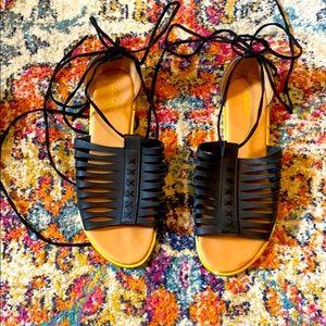 ☀️Lace Up Sandals